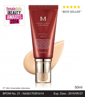 M PERFECT COVER B.B CREAM SPF42/PA+++ (50ml)