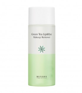 MISSHA THE STYLE GREEN TEA LIP AND EYE - MAKEUP REMOVER