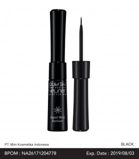 THE STYLE LIQUID SHARP EYELINER (BLACK)