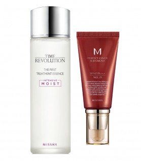 PAKET SPESIAL (THE FIRST TREATMENT ESSENCE + M PERFECT BB CREAM)