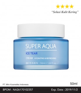SUPER AQUA ICE TEAR CREAM 50ml