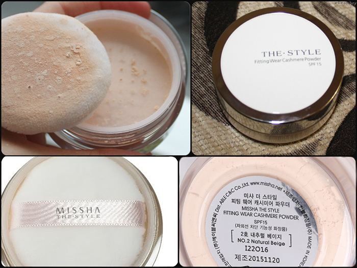 The Style Fitting Wear Cashmere Powder