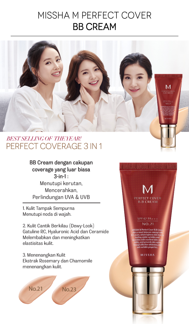 M Perfect BB Cream