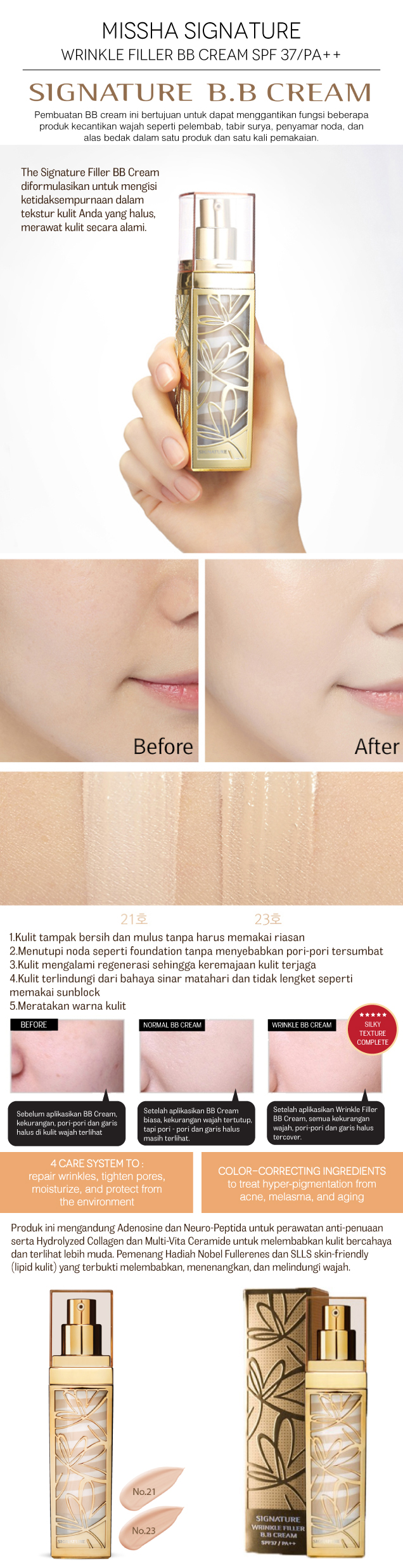 Wrinkle Filler BB Cream
